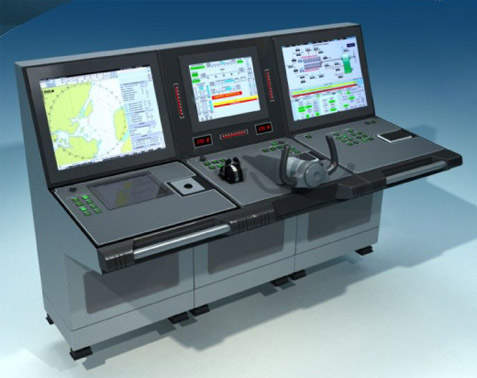 High-speed boat integrated control system (HSB-ICS)