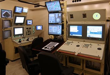 Integrated control training simulators