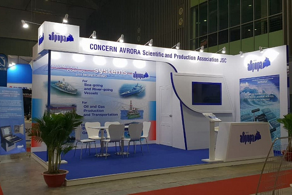 JSC Concern Avrora Scientific and Production Association took part in the international exhibition.
